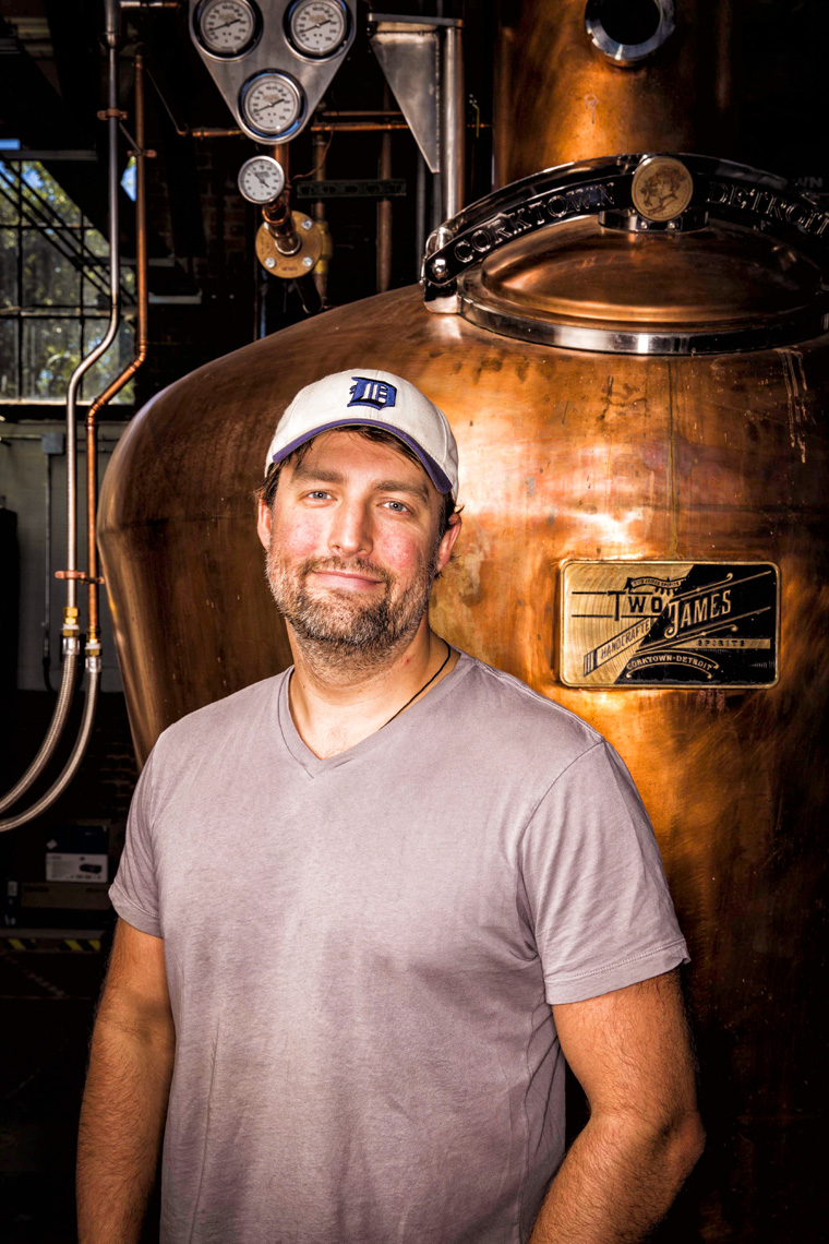 Dave Landrum-Two James Distillery